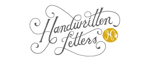 Handwritten Letters The Chic Type Blog