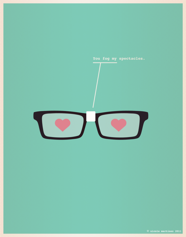 Nerdy Dirty Nerds In Love The Chic Type Blog