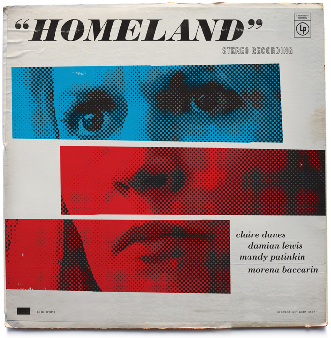 //Homeland Vintage Jazz Record Covers