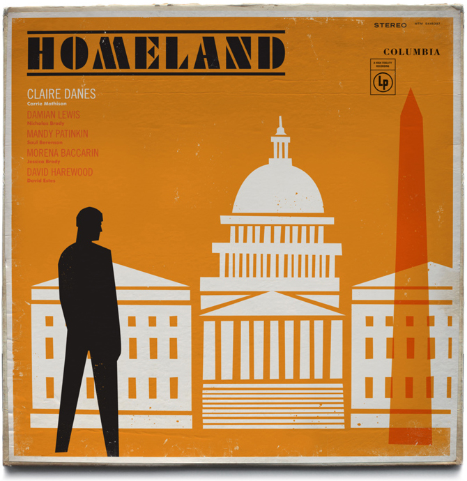 // Homeland Vintage Jazz Record Covers