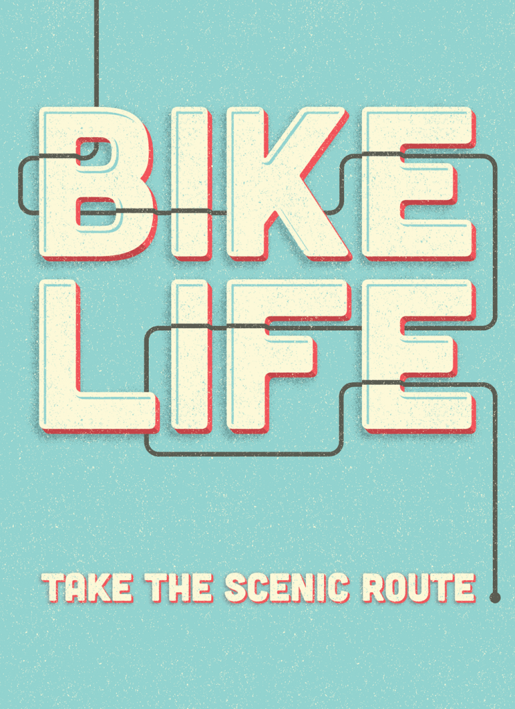 // Bike Life: Take The Scenic Route