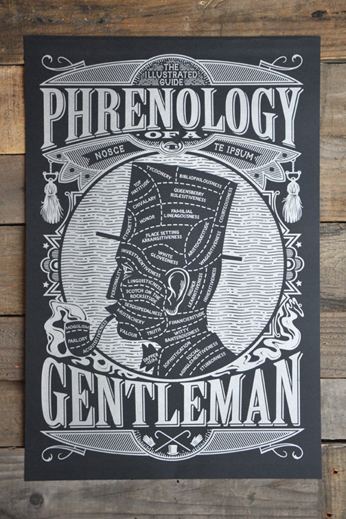 // Phrenology Of A Gentleman