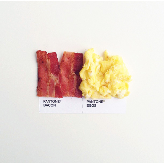 // Pantone - Bacon + Eggs