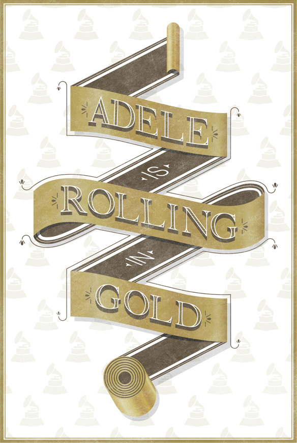 // Adele Is Rolling In Gold