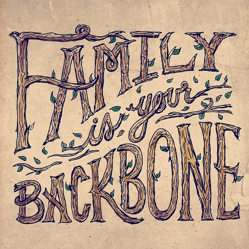 // Family Is Your Backbone