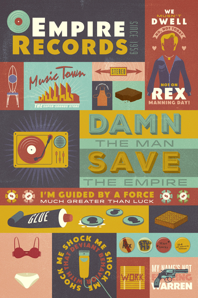 // Empire Records Tribute Poster