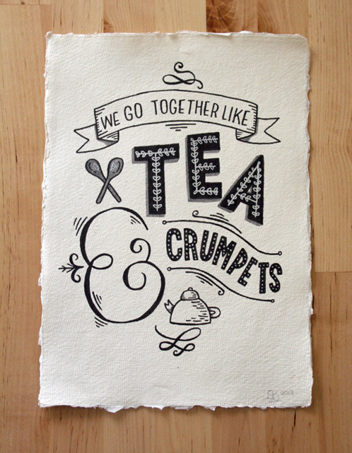// We Go Together Like Tea & Crumpets