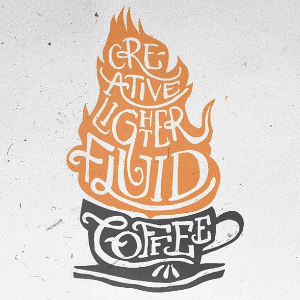 // Creative Lighter Fluid - Coffee