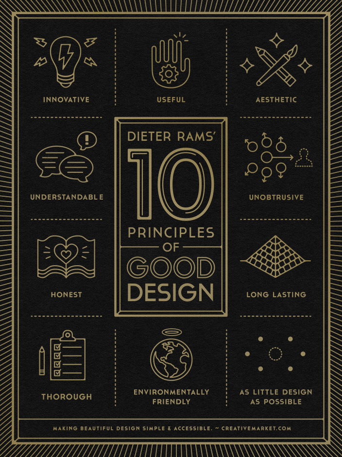 // 10 Principles of Good Design
