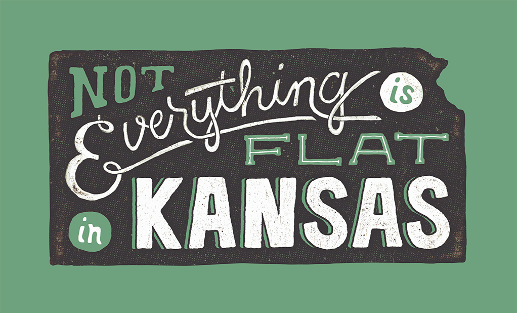 // Not Everything Is Flat in Kansas