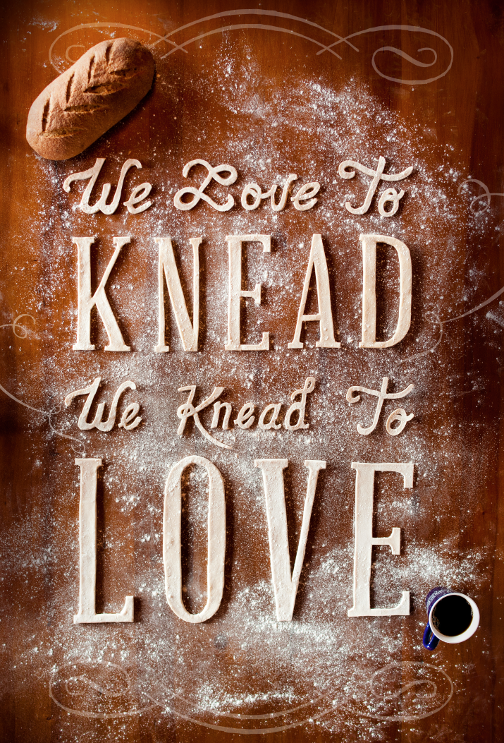 // We Love To Knead  |  We Knead To Love
