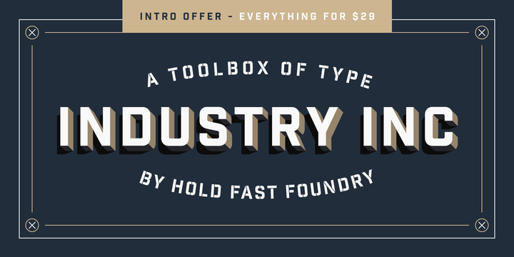 // Industry Inc Font