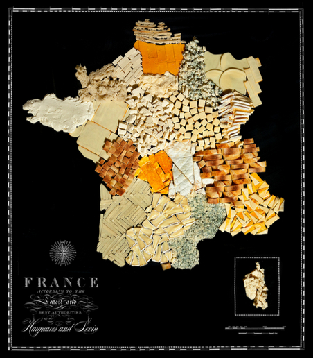 // France - Cheese & Bread