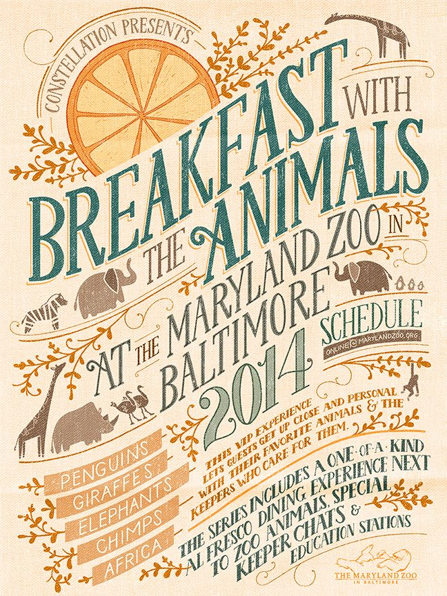 // Breakfast With Animals...