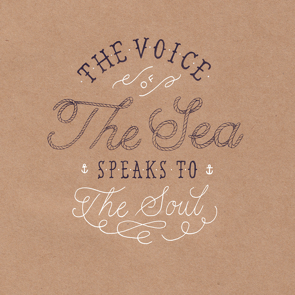 // The Voice of The Sea Speaks To The Soul