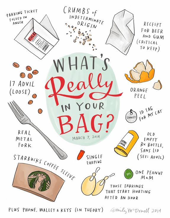 // What's Really In Your Bag?