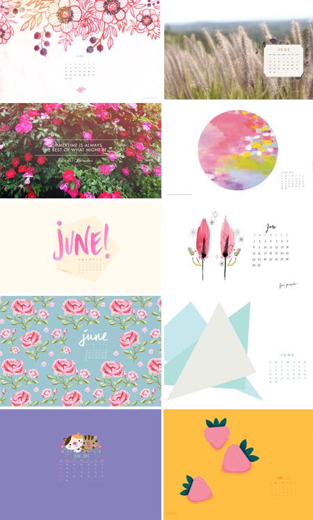 // 2014 - June Wallpapers Round-up