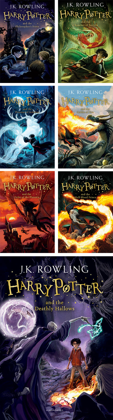 // Harry Potter Covers