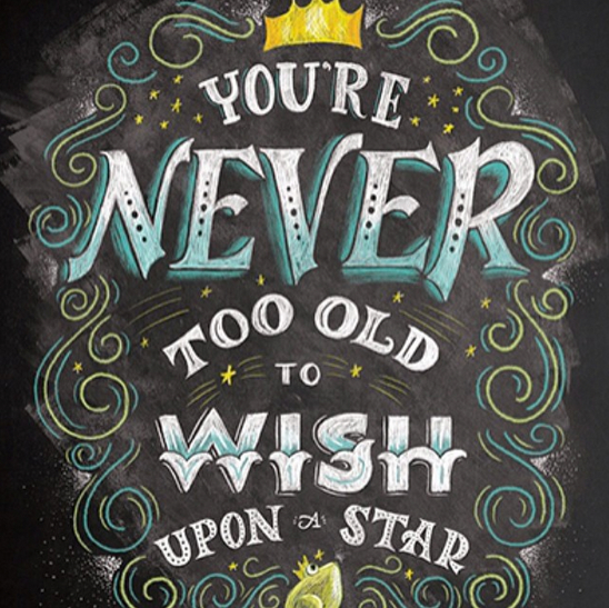 // You're Never Too Old To Wish Upon A Star