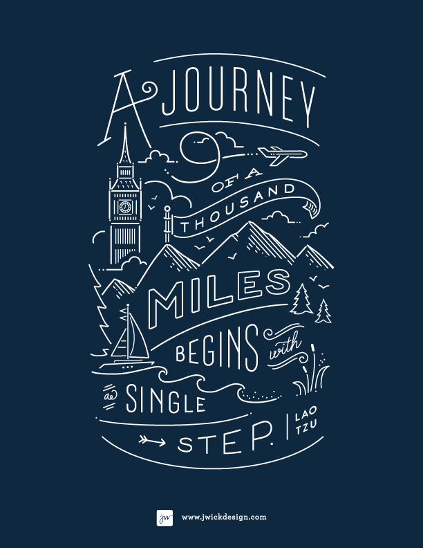 // A Journey of a Thousand Miles...