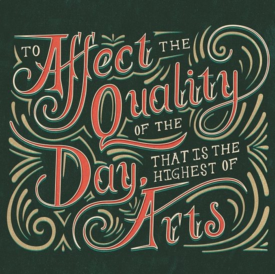 // Affect the Quality of the Day...