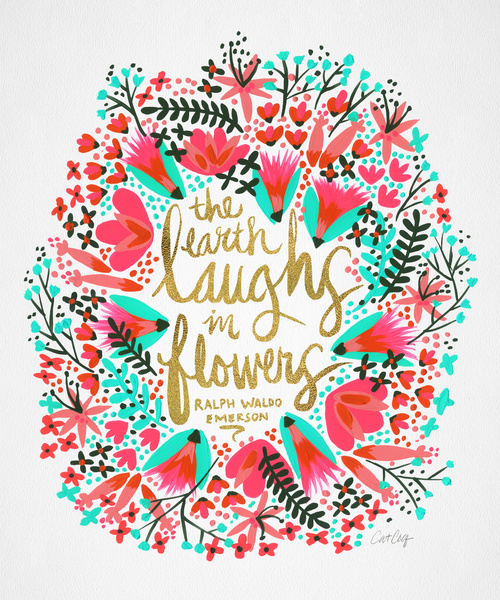 // The Earth Laughs in Flowers