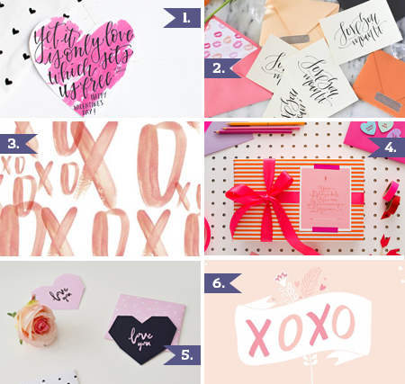 // Valentine's Day Printables