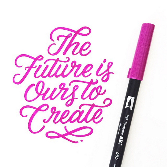 // The Future Is Ours To Create