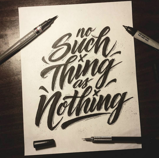 // No Such Thing As Nothing
