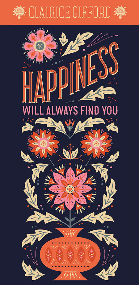 // Happiness Will Always Find You