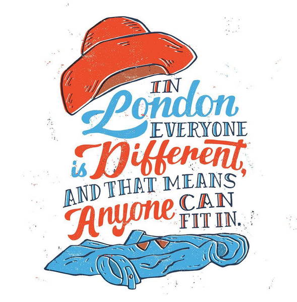// In London Everyone is Different and That Means Anyone Can Fit In